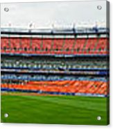 Shea Stadium Pano Acrylic Print
