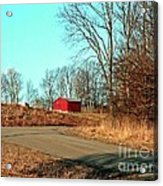 Shed Around The Bend Acrylic Print