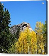 Sheep Nose Mountain In The Autumn Acrylic Print by Donna Parlow