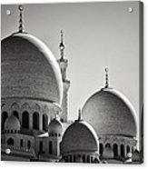 Sheikh Zayed Mosque Acrylic Print