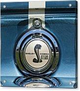 Shelby Cobra Gt 500 Emblem Acrylic Print