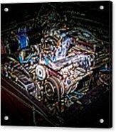 Shelby G.t. 500 Engine Acrylic Print