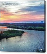 Shelby Lake Monday Hurricane Acrylic Print