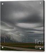 Shelf Cloud 12 Acrylic Print