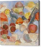 Shell Impresion II Acrylic Print by Susan Hanlon