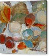 Shell Impression IIi Acrylic Print by Susan Hanlon