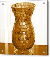 Shell Vase Acrylic Print