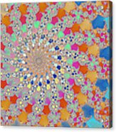 Shelly Spiral Acrylic Print
