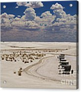 Shelters From The Afternoon Sun Acrylic Print