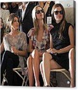 Shenae Grimes, Nicky Hilton, Rachel Acrylic Print