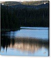 Sheriff Lake Flat Tops Colorado Acrylic Print
