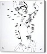 Shikat Dance - Morocco Acrylic Print