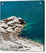 Shimmering Azure Water I Acrylic Print