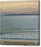 Shimmering Sunlight Upon The Sea Acrylic Print