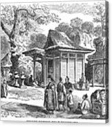 Shinto Shrine, 19th Century Acrylic Print
