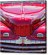 Shiny Red Ford Convertible. Acrylic Print
