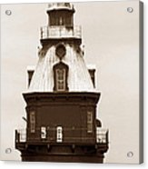 Ship John Shoal Light Acrylic Print
