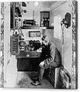 Ship: Telegraphy Room Acrylic Print