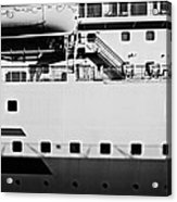 Ship Watching Acrylic Print by Dean Harte