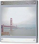 Shipping Triptych - San Francisco Bay Acrylic Print