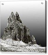 Shiprock Mountain Four Corners Acrylic Print