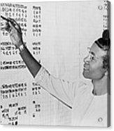 Shirley Chisholm 1924-2005 Monitoring Acrylic Print by Everett