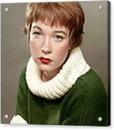 Shirley Maclaine, Late 1950s Acrylic Print
