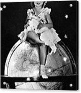 Shirley Temple, Fox Film Portrait, Ca Acrylic Print