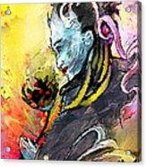 Shiva Diva Acrylic Print