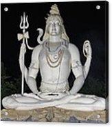 Shiva Statue at Kachnar City Acrylic Print