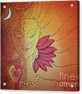 Shivshakti - Ardhnaarishwar Acrylic Print