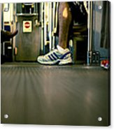 Shoes On The L Acrylic Print