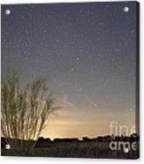 Shooting Star Acrylic Print