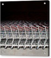 Shopping Carts Acrylic Print