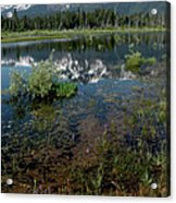 Shore Reflections Of Mt Tallac Acrylic Print