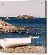 Shoreline Boat Acrylic Print