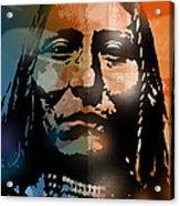 Shoshone Brave Acrylic Print