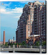 Shot Tower - Baltimore Acrylic Print