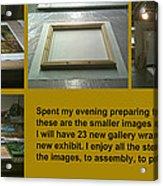 Show Preparations Acrylic Print