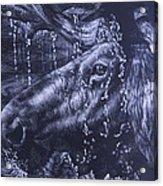 Shower Acrylic Print