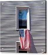 Showing The Flag Acrylic Print