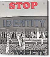 Shred Your Identity 2 Acrylic Print