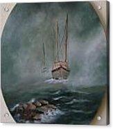 Shrimp Boats Coming Acrylic Print