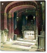 Shrine Of The Annunciation Nazareth Acrylic Print