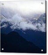 Shroud Mountain Peaks Acrylic Print