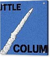 Shuttle Columbia Acrylic Print