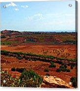Sicilian Landscape Acrylic Print
