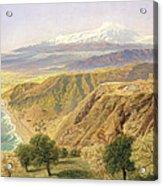 Sicily - Taormina Acrylic Print