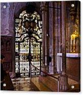 Side Chapel St Stephens - Vienna Acrylic Print