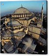 Side Domes And Minarets Gather Acrylic Print